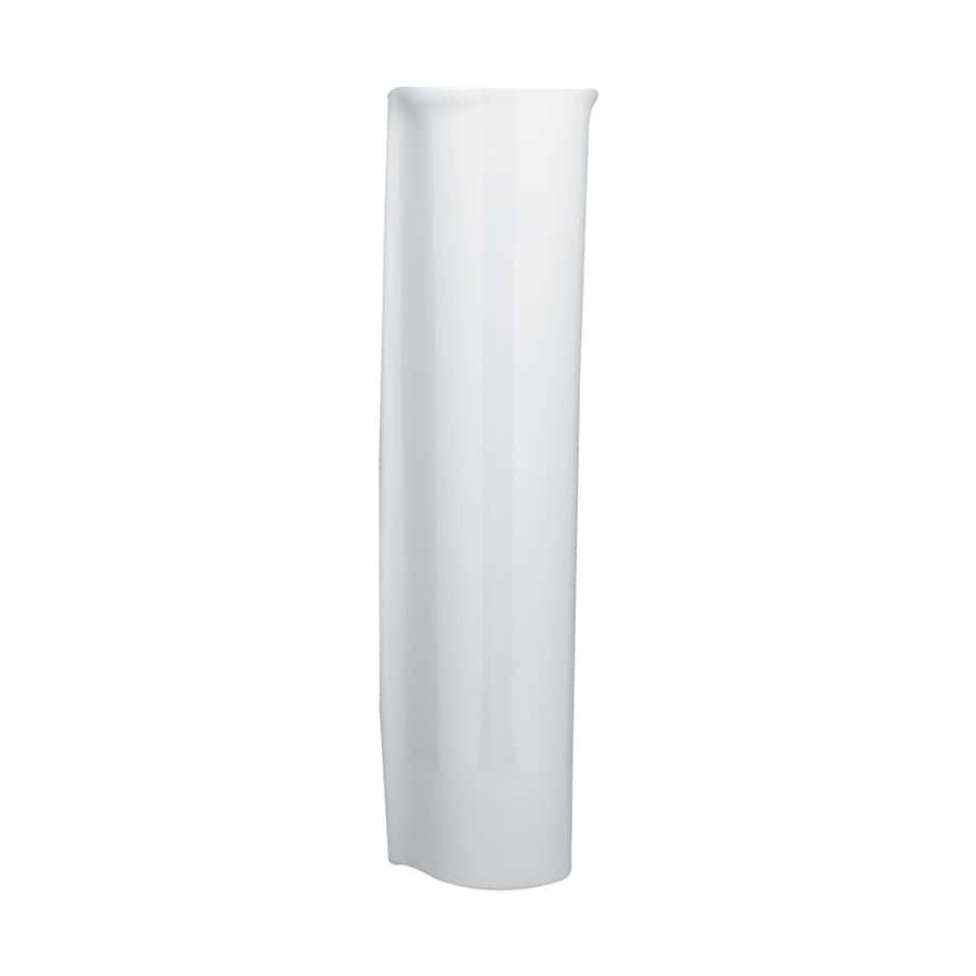 American Standard Ravenna 30-in H White Vitreous China Pedestal Sink Base