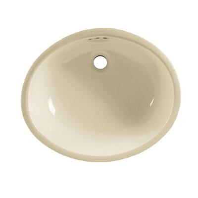 American Standard Linen Undermount Oval Bathroom Sink With