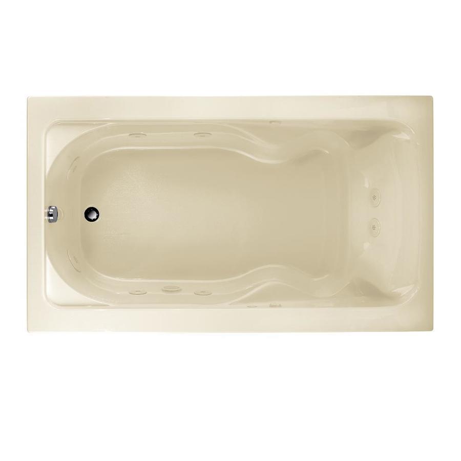 American Standard Cadet Linen Acrylic Rectangular Whirlpool Tub (Common: 42-in x 72-in; Actual: 19.75-in x 42-in x 72-in)