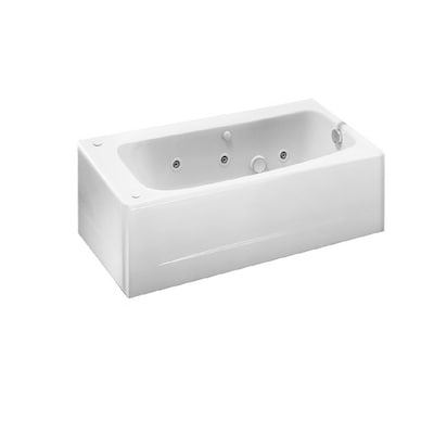 American Standard White Americast Skirted Jetted Whirlpool ...