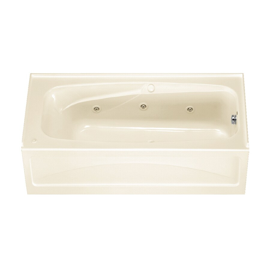 American Standard Colony Linen Acrylic Rectangular Whirlpool Tub (Common: 32-in x 66-in; Actual: 19.25-in x 32-in x 66-in)