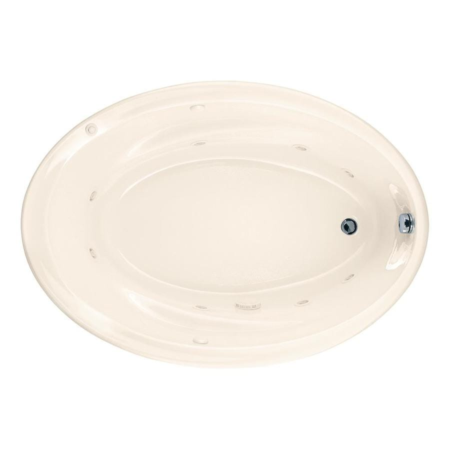 Shop American Standard Linen Acrylic Drop-In Jetted Whirlpool Tub at ...