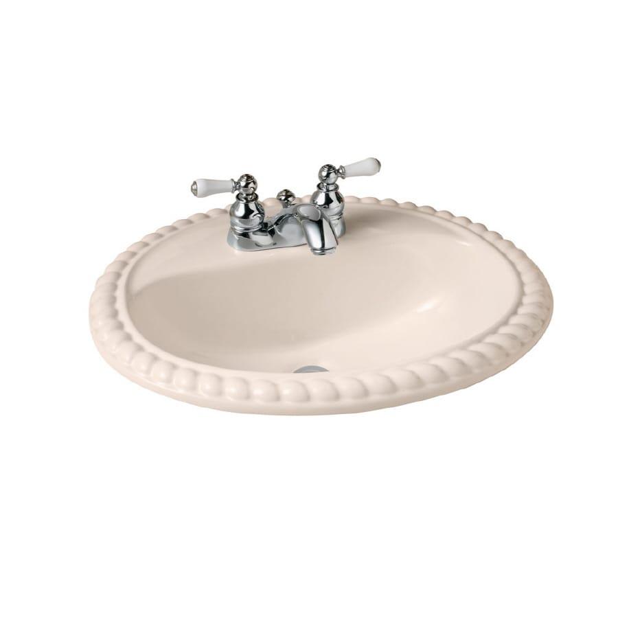 American Standard Rope Twist Bone Bath Sink