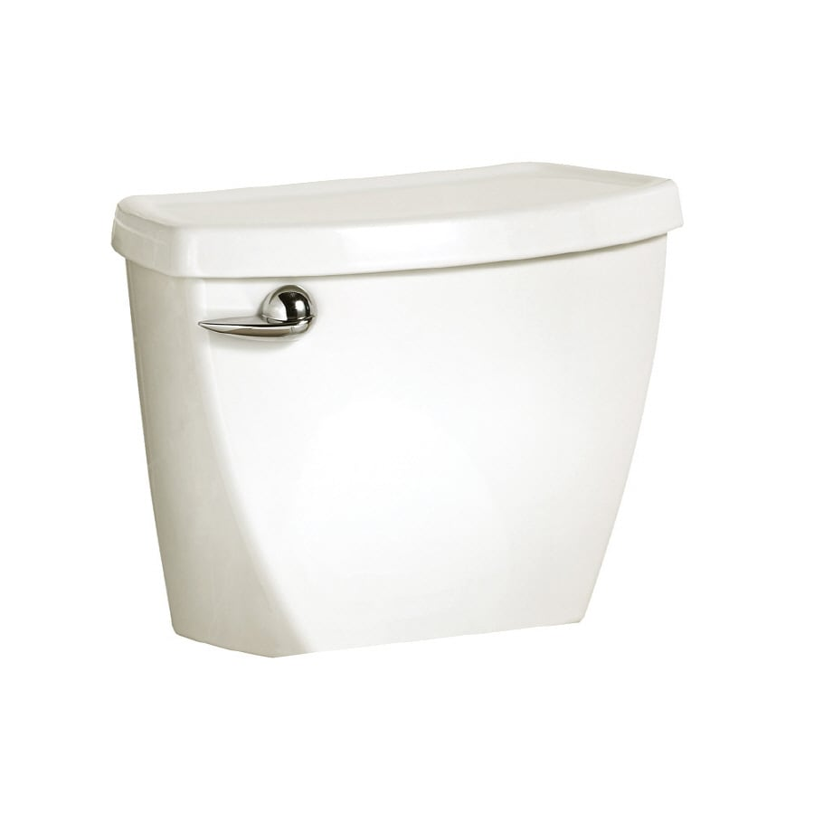 American Standard Cadet 3 White 1.6 Gpf (6.06 Lpf) 12-in Rough-in Single-Flush Toilet Tank