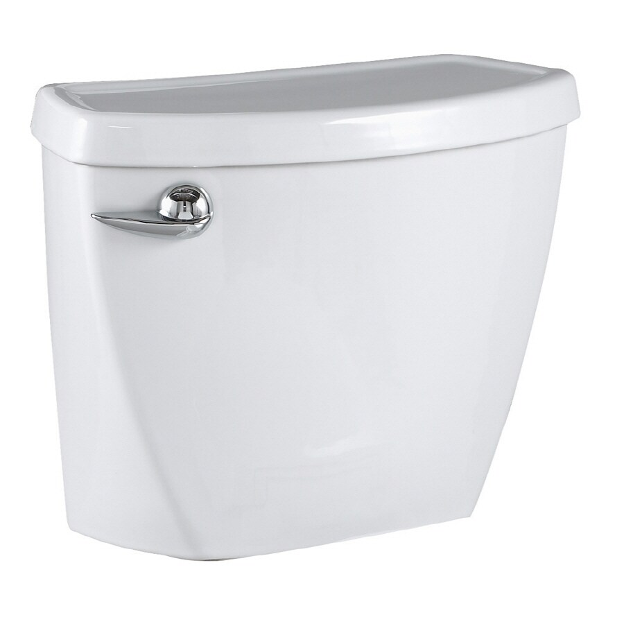 American Standard Cadet 3 White 1.6-GPF (6.06-LPF) 10-in Rough-In Single-Flush Toilet Tank