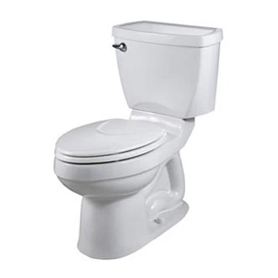 American Standard Champion 4 White 1.6 GPF Elongated 2-Piece Toilet