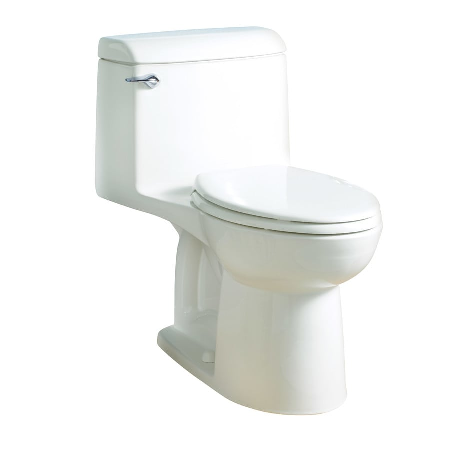 American Standard Champion 1.6 White Elongated Standard Height 1-Piece Toilet