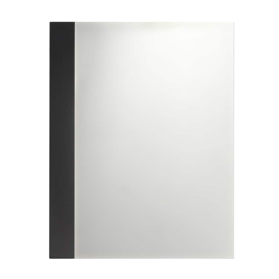 American Standard 22-in W x 28-in H Espresso Rectangular Bathroom Mirror