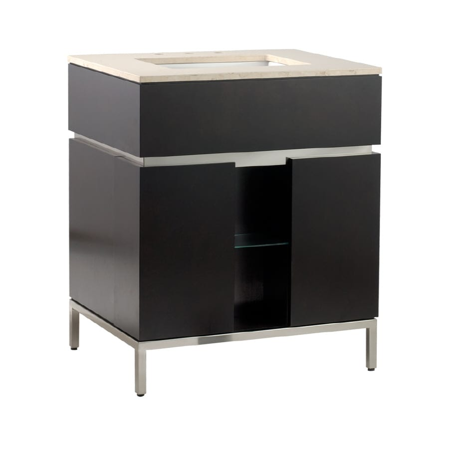 American Standard Studio Espresso (Common: 30-in x 22-in) Contemporary Bathroom Vanity (Actual: 30-in x 22-in)