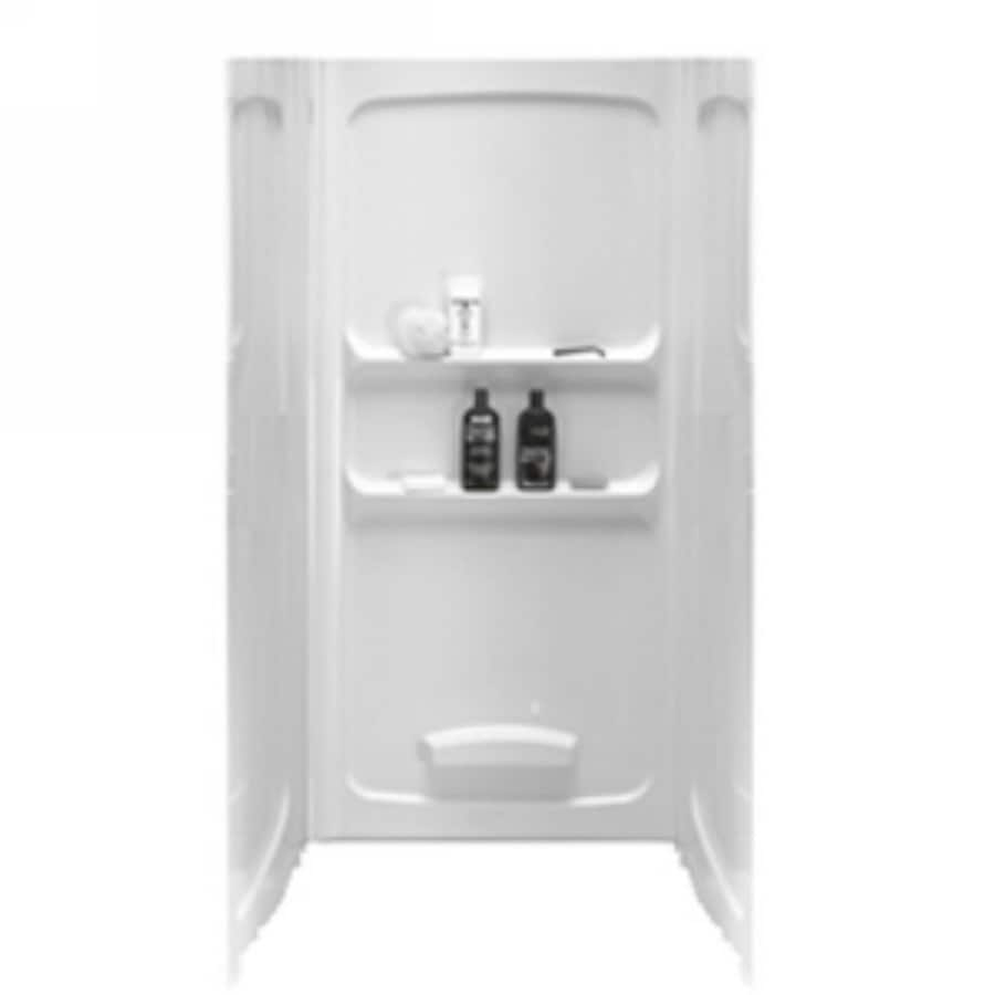 American Standard 32-in W x 32-in L x 70-in H White Shower Wall Surround Side and Back Panel