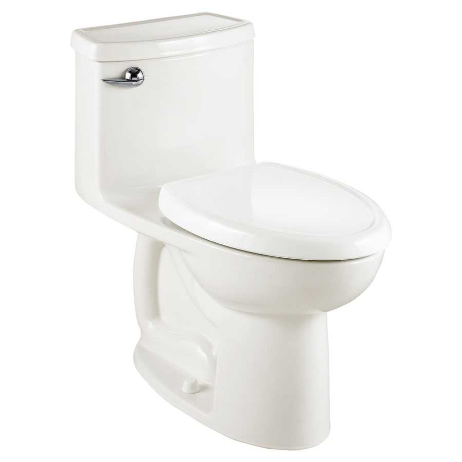 American Standard Cadet 3 White WaterSense Elongated Chair Height 1-Piece Toilet