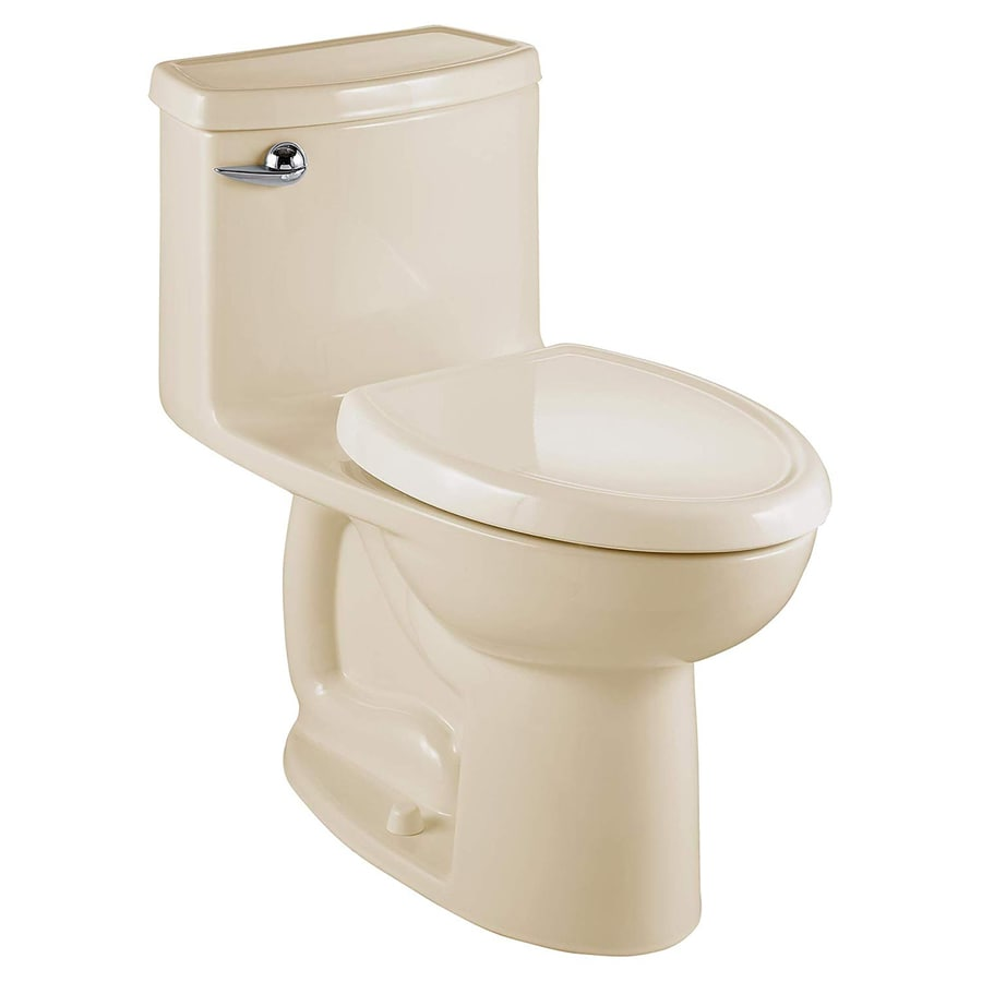 American Standard Cadet 3 FloWise Bone 1.28 GPF High Efficiency WaterSense Elongated 1-Piece Toilet