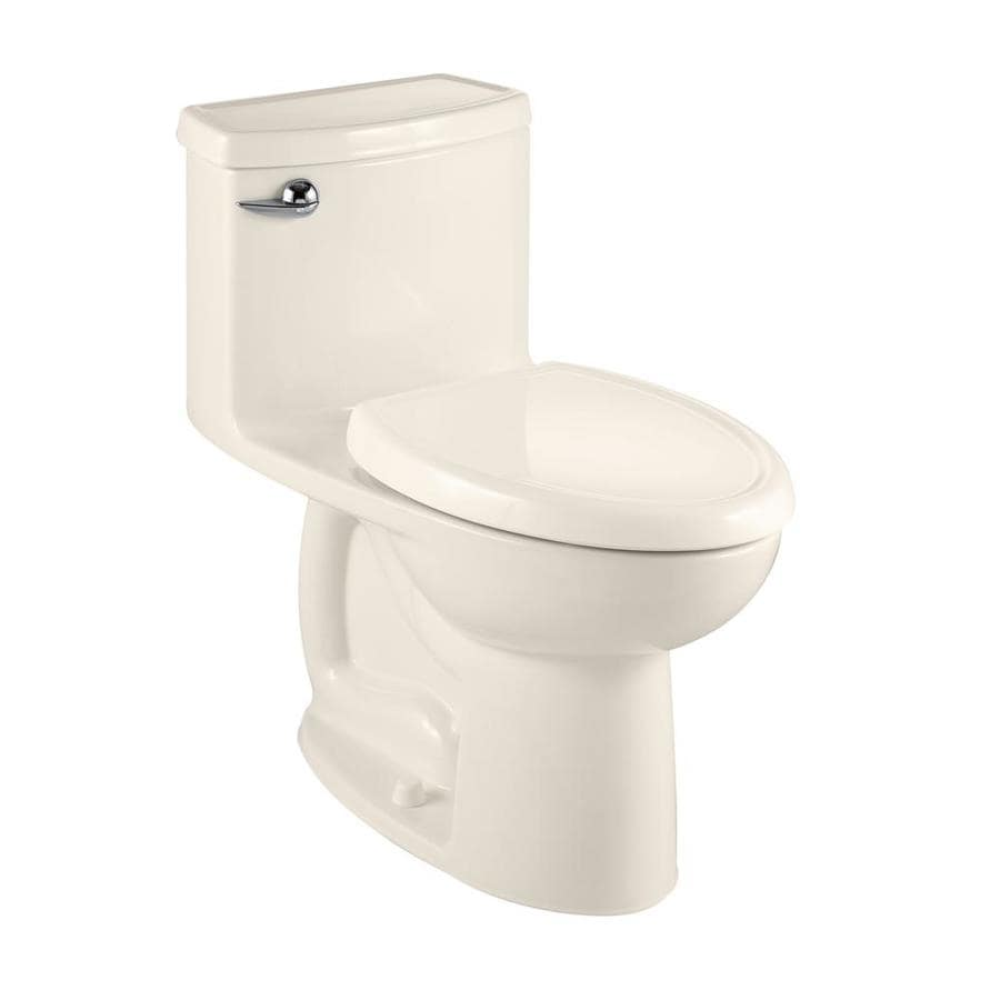 American Standard Cadet 3 1.28-GPF (4.85-LPF) Linen Elongated Chair Height 1-piece Toilet
