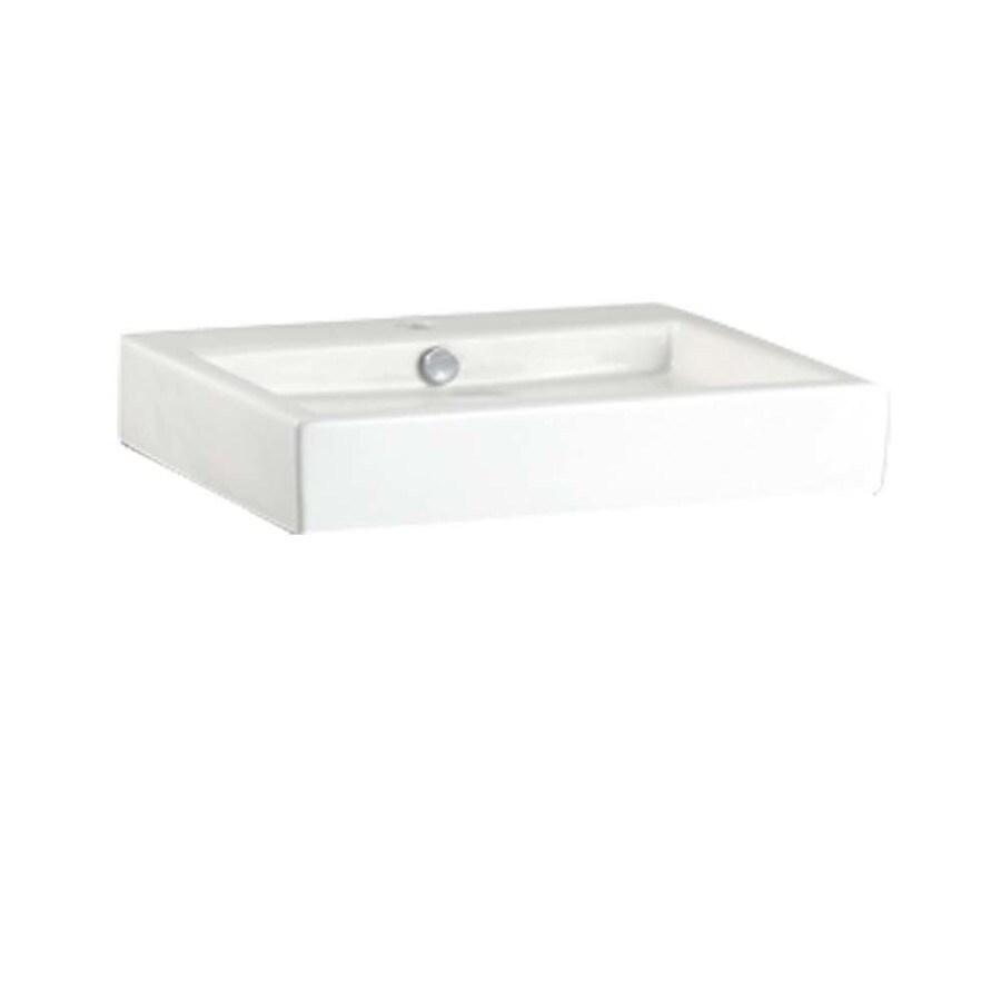 American Standard Studio White Vessel Bathroom Sink