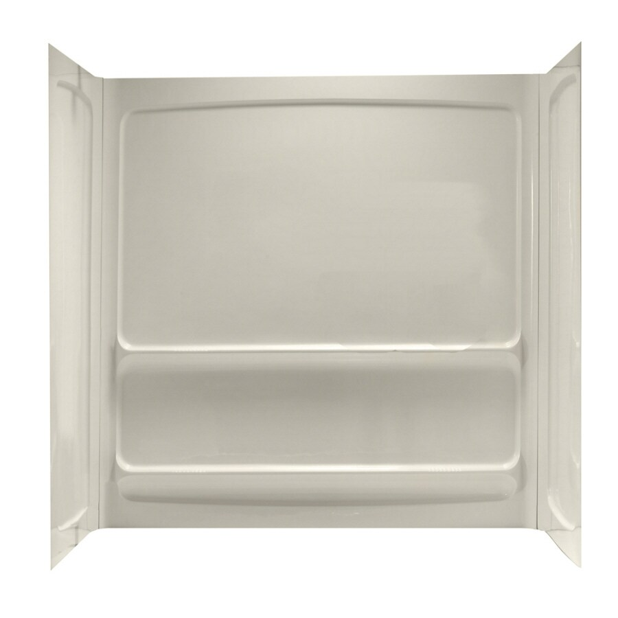 American Standard 60-in W x 32-in L x 60-in H Linen Shower Wall Surround Back Panel