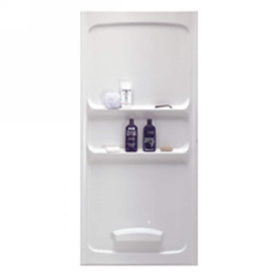 American Standard 36-in W x 36-in L x 70-in H White Shower Wall Surround Back Panel