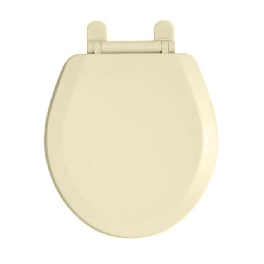 American Standard H2Option Plastic Round Slow-Close Toilet Seat