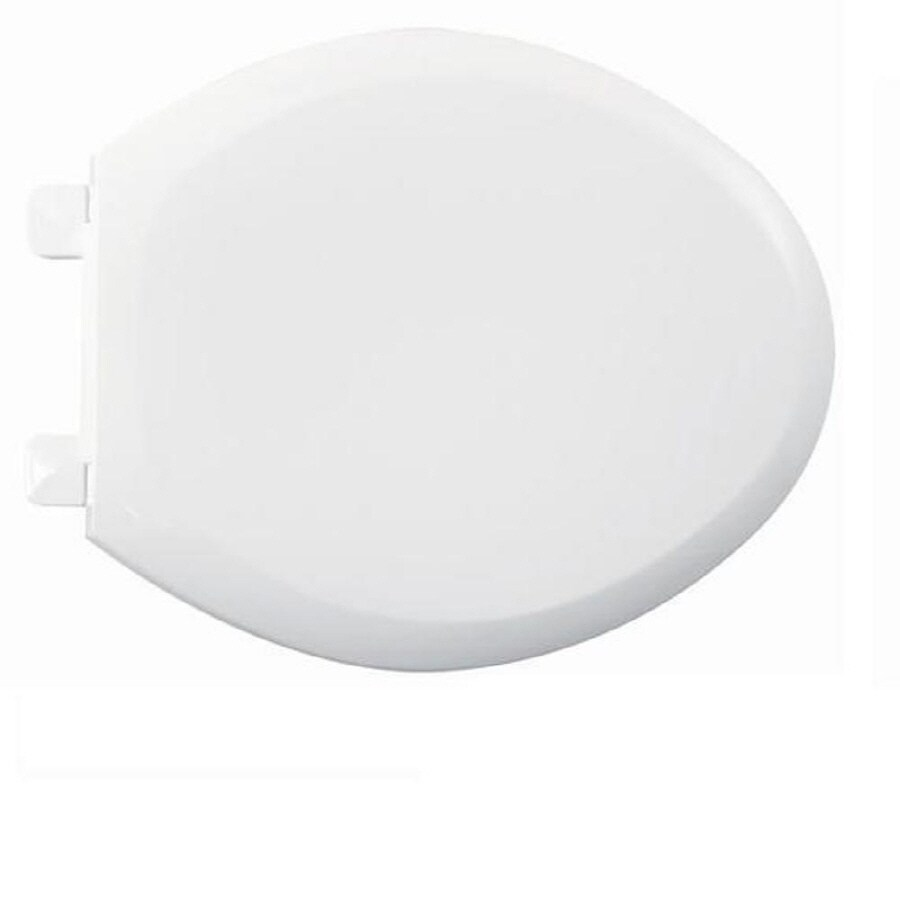 American Standard Champion White Plastic Elongated Slow Close Toilet Seat At Lowes Com