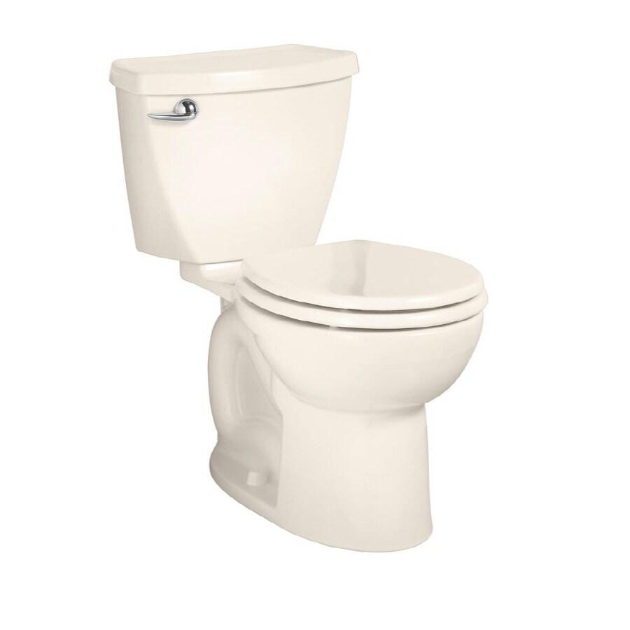 American Standard Cadet 3 FloWise Linen 1.28 GPF WaterSense Round 2-Piece Toilet