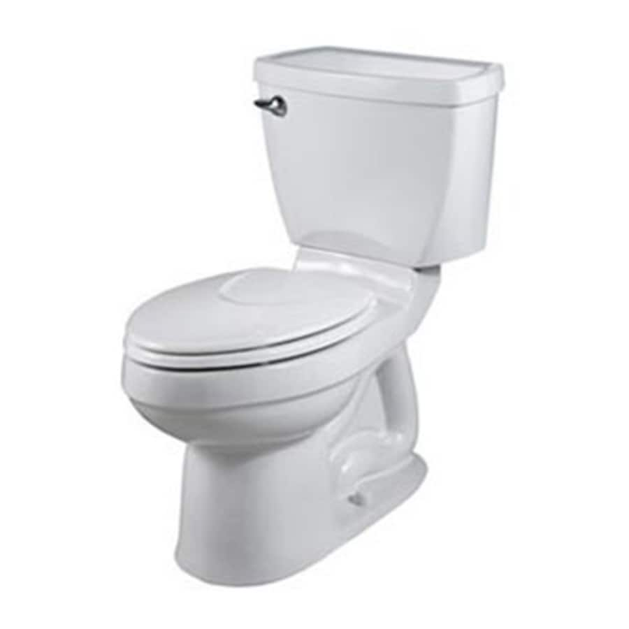 American Standard Champion 4 1.6 White Elongated Chair Height 2-Piece Toilet
