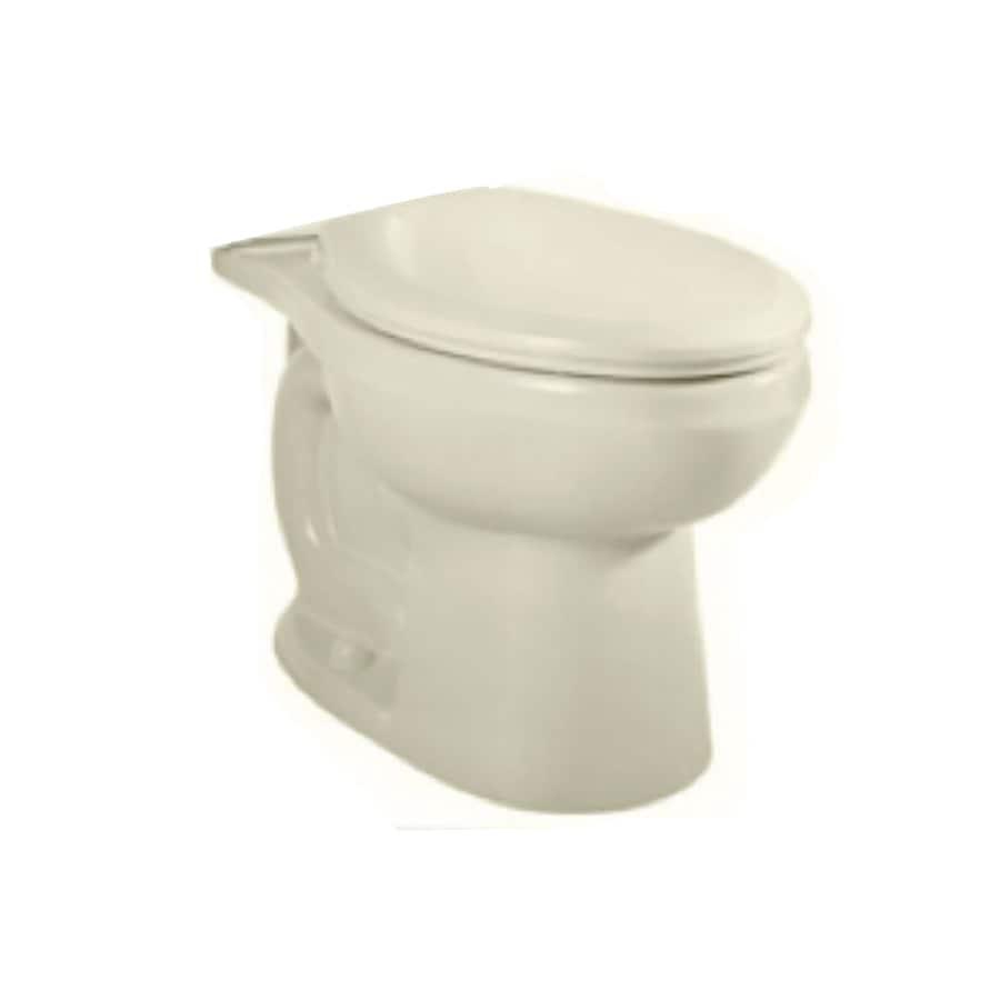 American Standard H2O Option Linen Elongated Chair Height Toilet Bowl