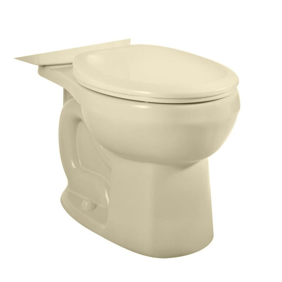 American Standard H2O Option Bone Round Standard Height Toilet Bowl