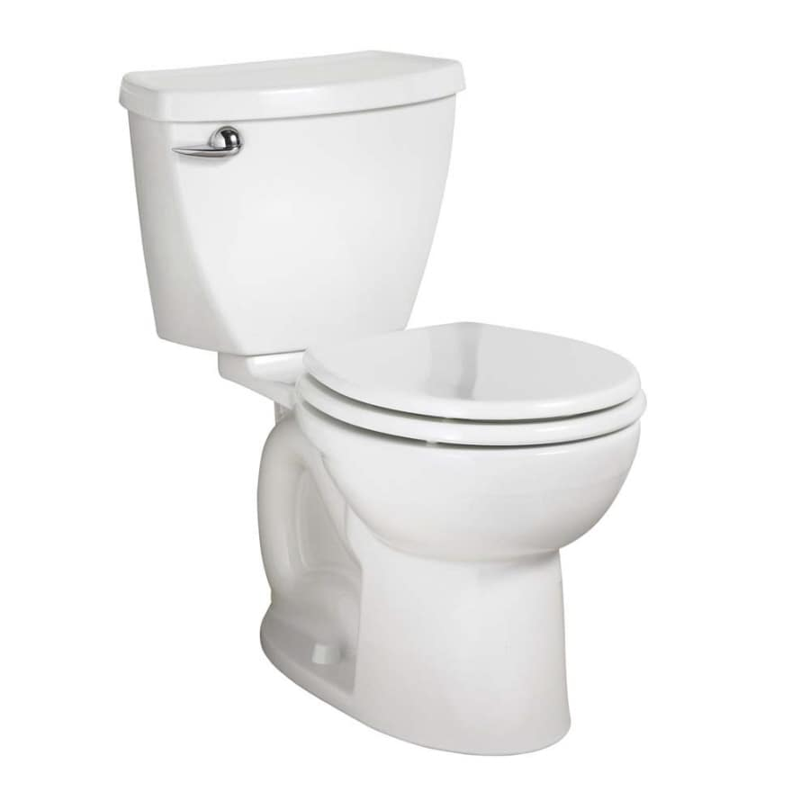 American Standard Cadet 3 FloWise White 1.28 GPF WaterSense Round 2-Piece Toilet
