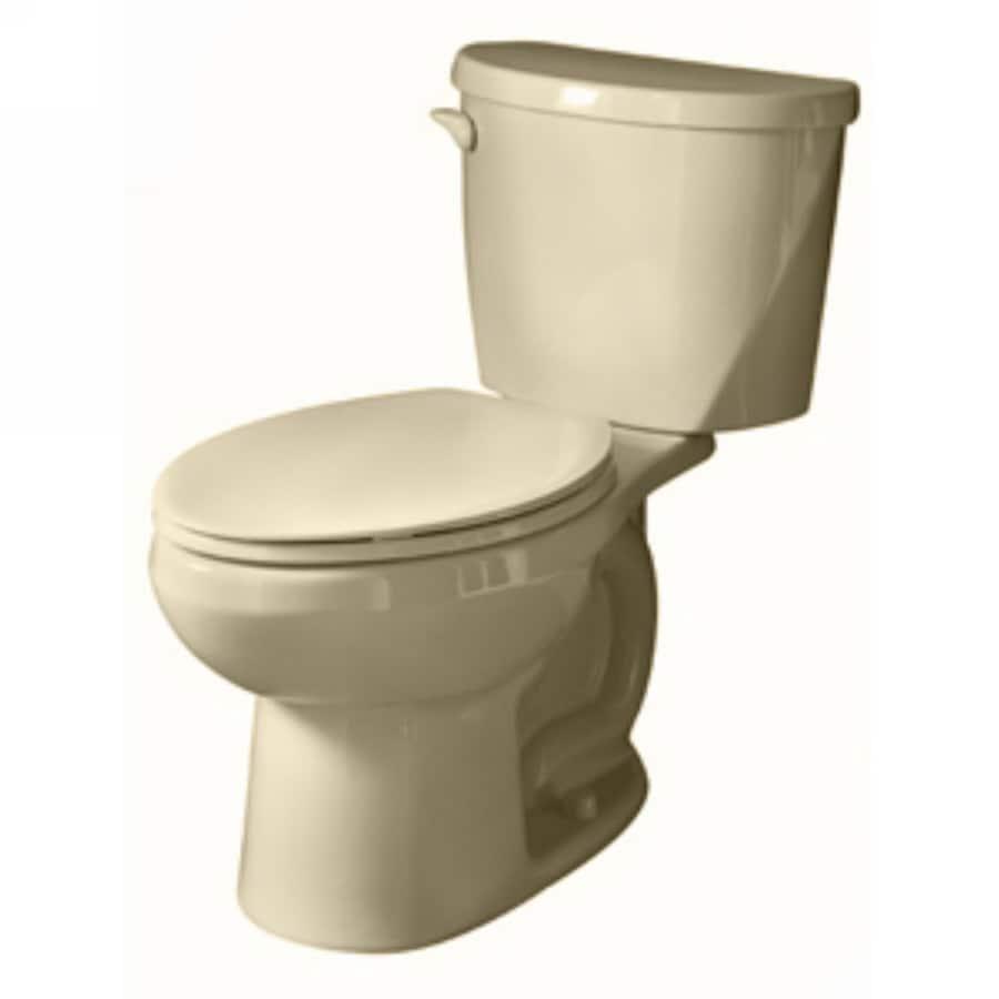 American Standard Evolution Bone 1.6-GPF/6.06-LPF 12-in Rough-in Elongated 2-Piece Comfort Height Toilet