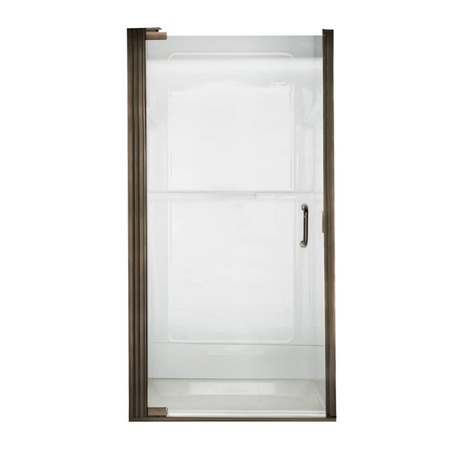 American Standard Euro Frameless Oil-Rubbed Bronze Shower Door