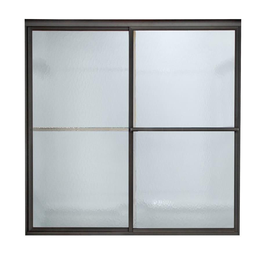 American Standard Prestige 46-in to 48-in Framed Sliding Shower Door