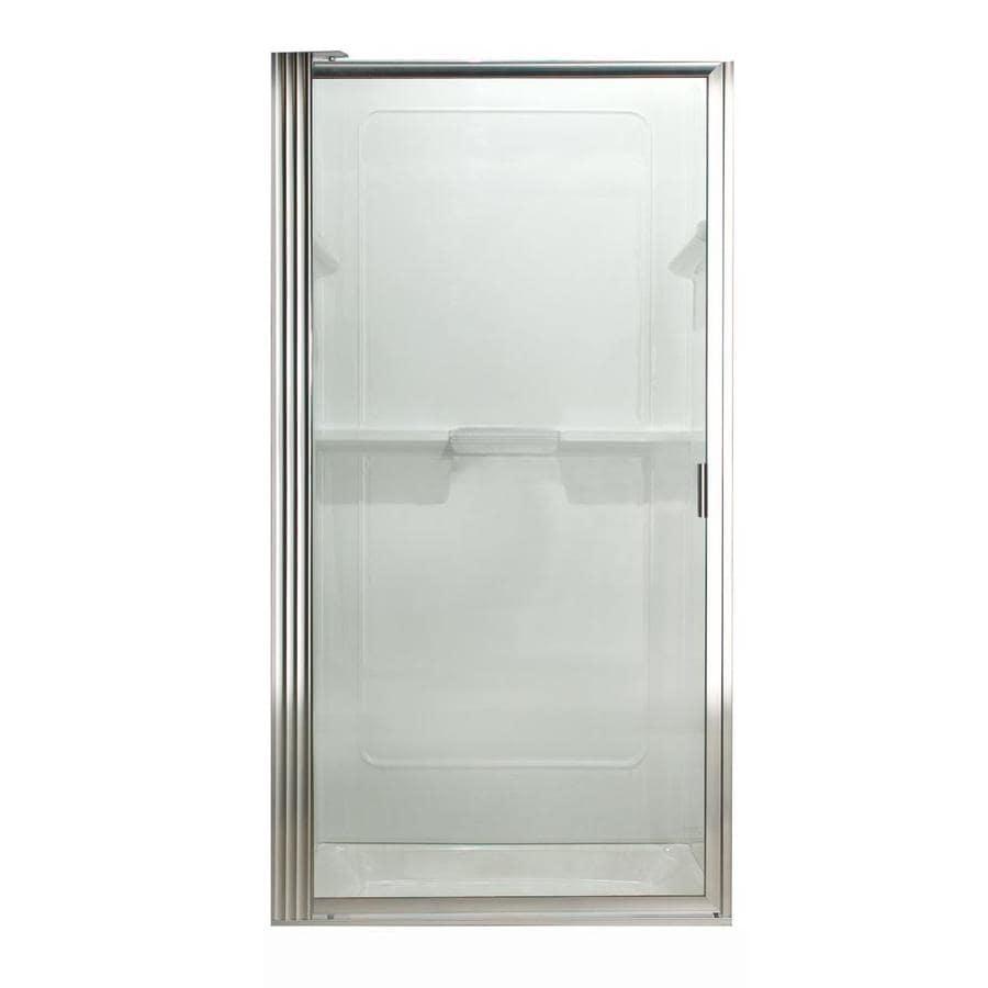 American Standard Framed Silver Shower Door