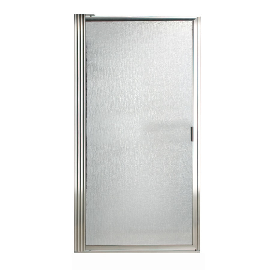Shop American Standard Framed Silver Shower Door At Lowes Com