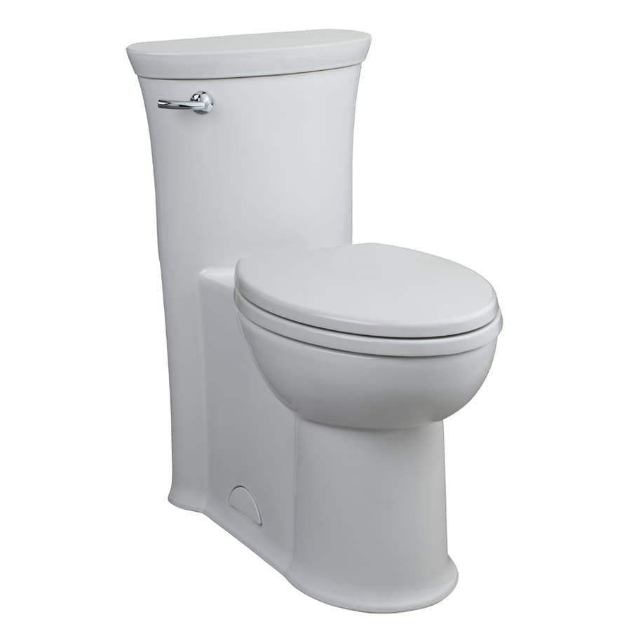 American Standard Toilet Seats >> Shop American Standard Tropic White WaterSense Labeled Elongated Chair Height 1-piece Toilet 12 ...