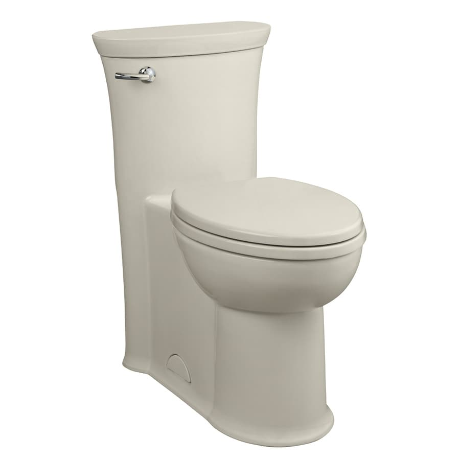 American Standard Tropic Linen 1.28-GPF (4.85-LPF) 12-in Rough-In WaterSense Elongated 1-Piece Comfort Height Toilet