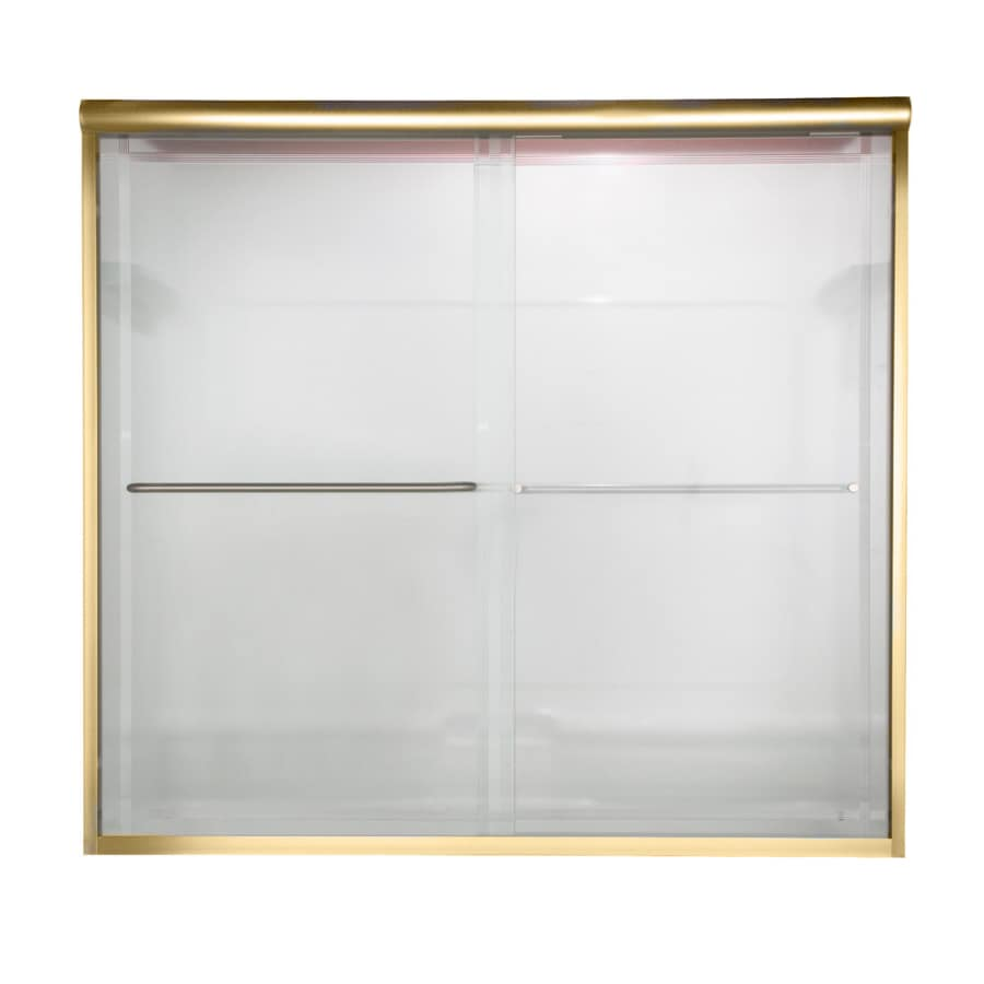 American Standard 60-in W x 57-in H Frameless Bathtub Door