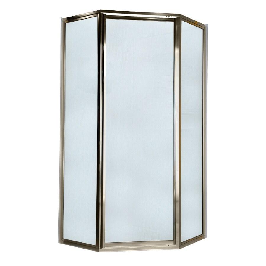American Standard Framed Polished Nickel Shower Door