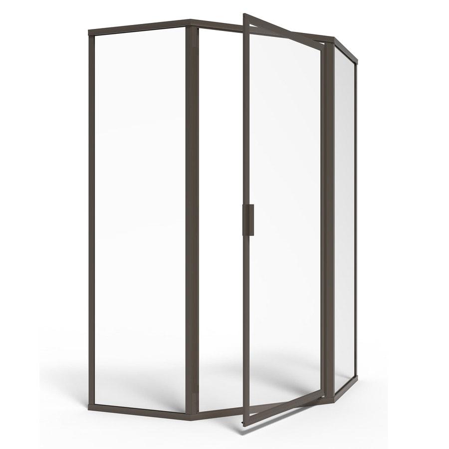 American Standard Framed Oil-Rubbed Bronze Shower Door