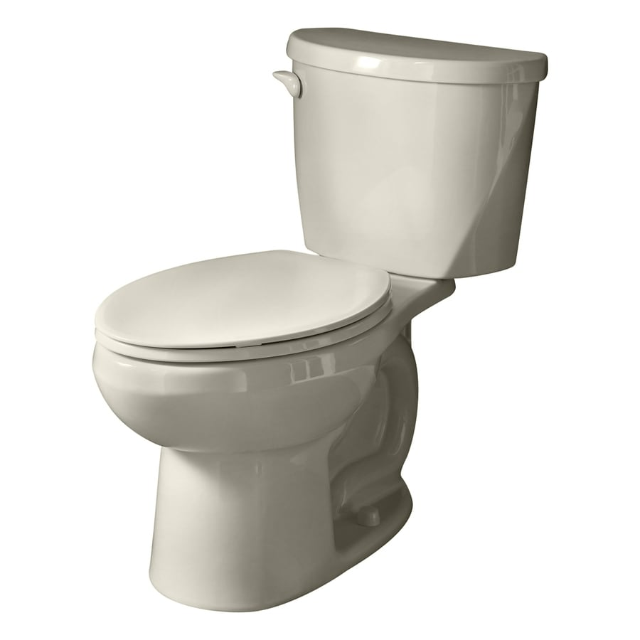 American Standard Evolution 2 Linen 1.28-GPF/4.85-LPF 12-in Rough-in Watersense Elongated 2-Piece Comfort Height Toilet