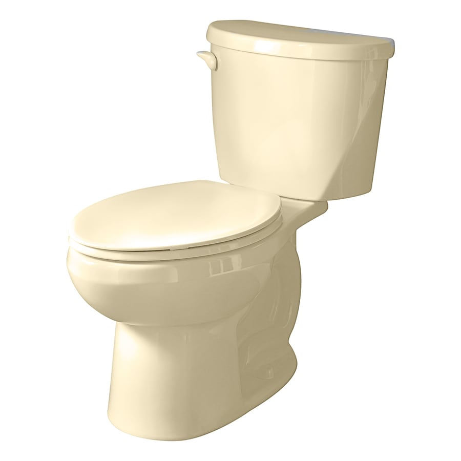 American Standard Evolution 2 Bone 1.28-GPF/4.85-LPF 12-in Rough-in Watersense Round 2-Piece Standard Height Toilet