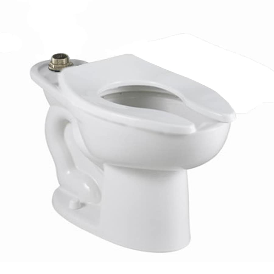 American Standard Madera White Elongated Standard Height Toilet Bowl