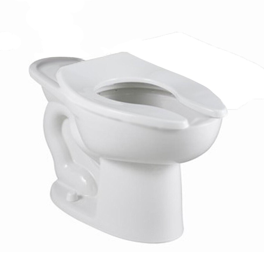 American Standard Madera Chair Height White 12-in Rough-In Pressure Assist Elongated Toilet Bowl