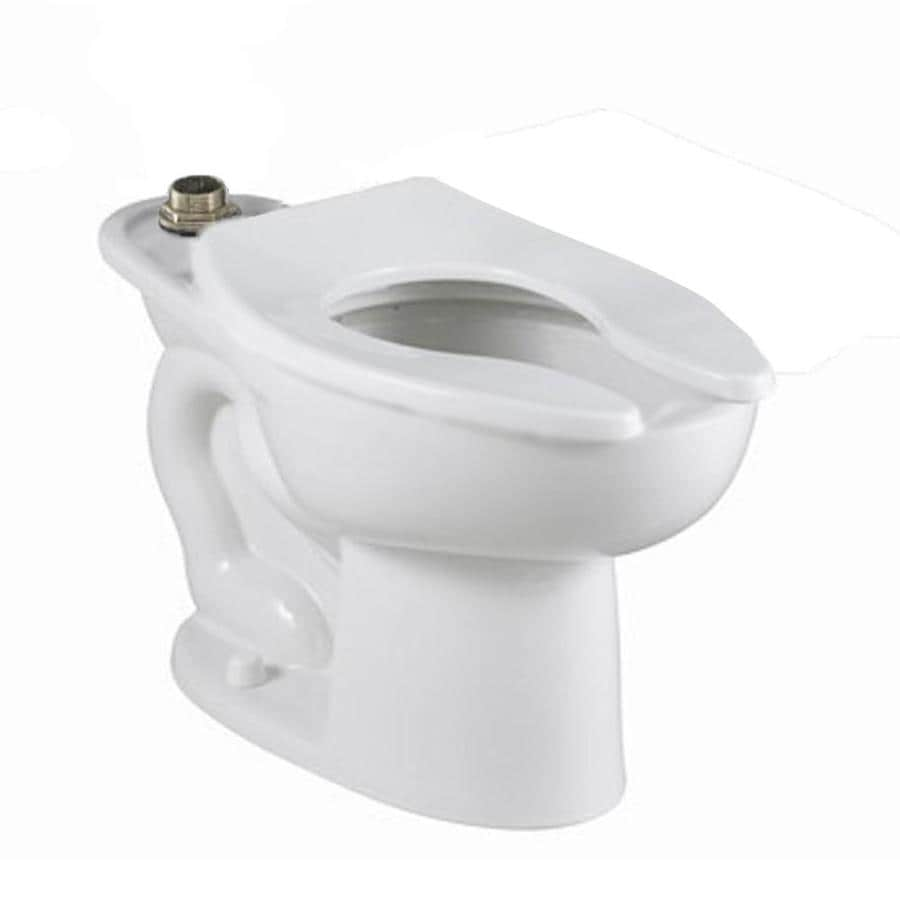 American Standard Madera White Elongated Height Toilet Bowl