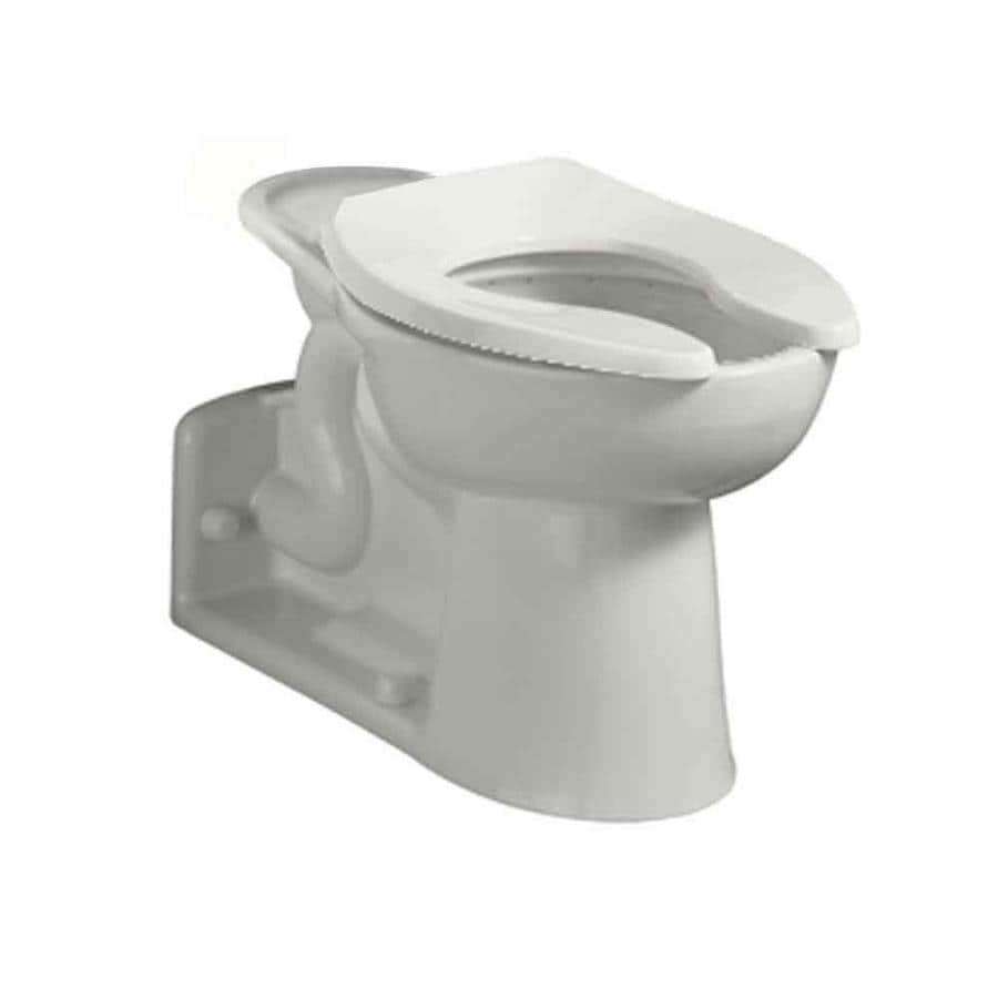 American Standard Priolo White Elongated Chair Height Toilet Bowl