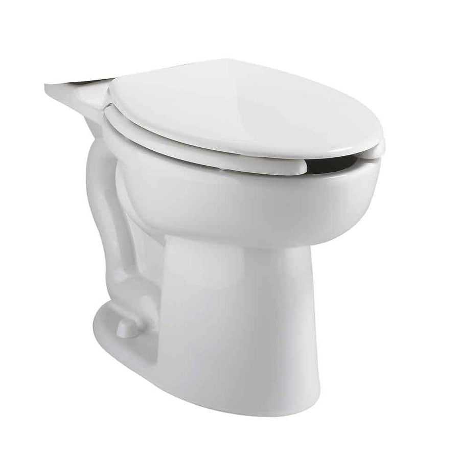 American Standard Cadet White Elongated Chair Height Toilet Bowl