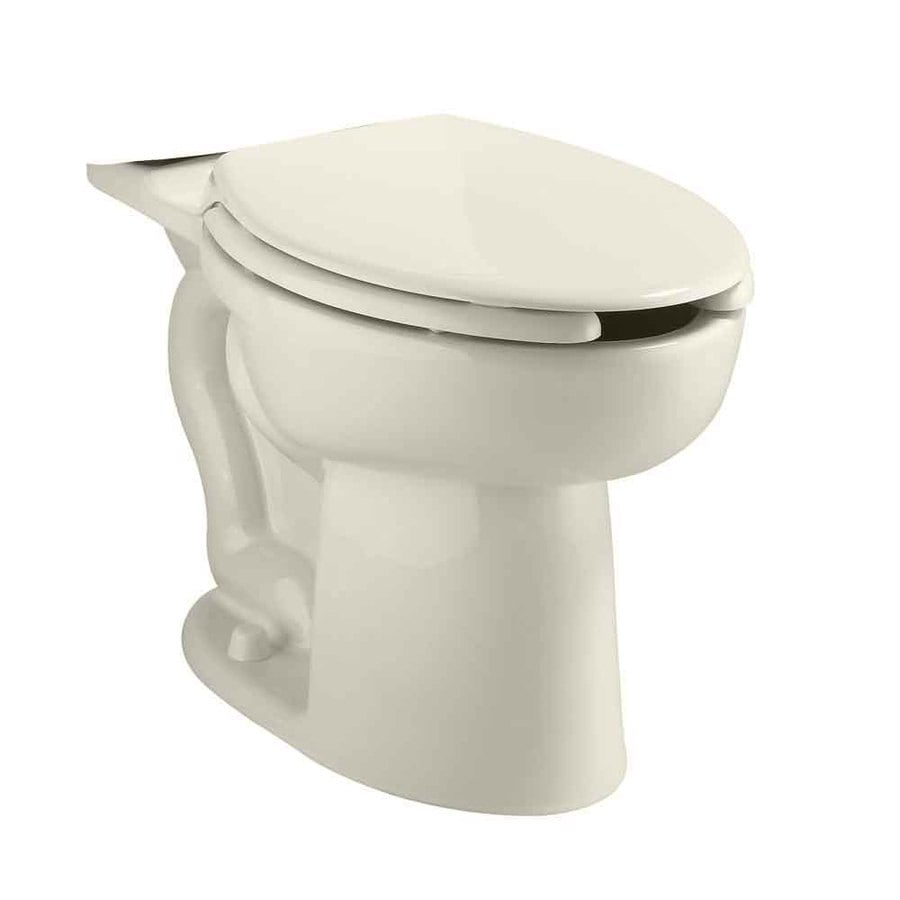 American Standard Cadet Chair Height Linen 12-in Rough-In Pressure Assist Elongated Toilet Bowl