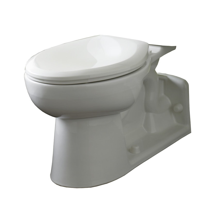 American Standard Yorkville White Elongated Standard Height Toilet Bowl