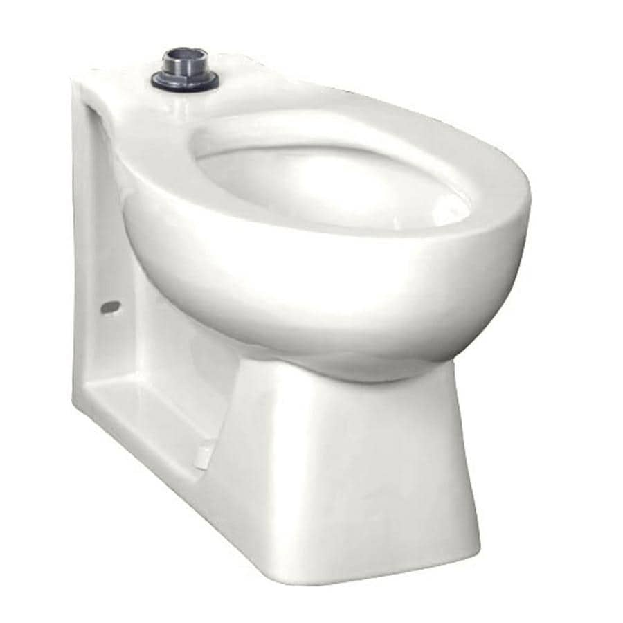American Standard Huron White Elongated Chair Height Toilet Bowl