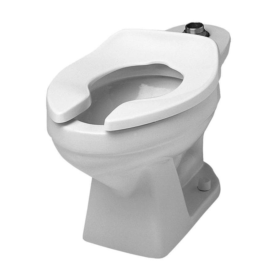 crane plumbing ecowhirlton standard height white 12in roughin pressure assist elongated toilet - Pressure Assist Toilet