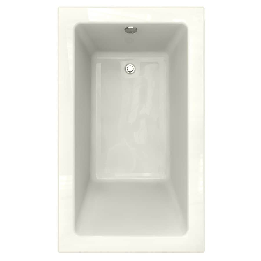 American Standard Studio Acrylic Rectangular Drop-in Bathtub with Reversible Drain (Common: 36-in x 60-in; Actual: 22.5-in x 36-in x 60-in)