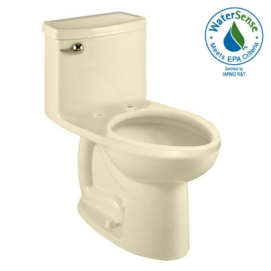 American Standard Cadet 3 Bone 1.28-GPF (4.85-LPF) 12-in Rough-In WaterSense Elongated 1-Piece Comfort Height Toilet